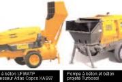 <span style='font-weight:300;'>Machine à projeter le béton, le mortier, le plâtre, la peinture</span><br/>Turbosol, Putzmeister, UFMATP … toutes sur le même segment