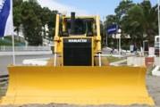 GH Komatsu, 1er fournisseur du marché des bouteurs (bulldozer)