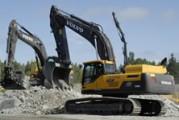 Marché des pelles : Hyundai et Volvo ont fait table rase en 2011