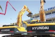 <span style='font-weight:300;'>Hyundai trône sur le segment</span><br/>541 pelles introduites pour 71 743 837 Usd