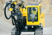 <span style='font-weight:300;'>Girafe QLT H250  et Power Roc T25DC</span><br/>Des innovations pour plus de productivité chez Atlas Copco