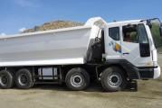 <span style='font-weight:300;'>Daewoo Elsecom véhicule industriel</span><br/>Lancement officiel du nouveau camion à benne 8×4