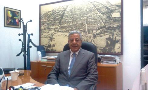 Mohamed Yassine Hafiane , président du directoire de la SGP Indjab
