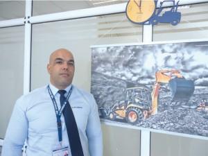 M. Mansour Tali, directeur commercial Hyundai Heavy Industrie - HMA filiale du groupe Cevital.