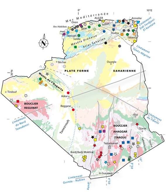 Carte Algerie Maghnia.Mica 2015 1er Salon International Pour Les Mines Et