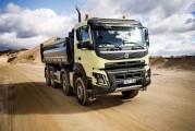 <span style='font-weight:300;'>Volvo Trucks lance 5 nouveautés dans la gamme construction</span><br/>Volvo Dynamic Steering pour essieux avant doubles