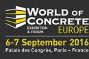 WORLD OF CONCRETE EUROPE revient en septembre 2016 à Paris