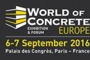 WORLD OF CONCRETE EUROPE revient en septembre 2016 à Paris