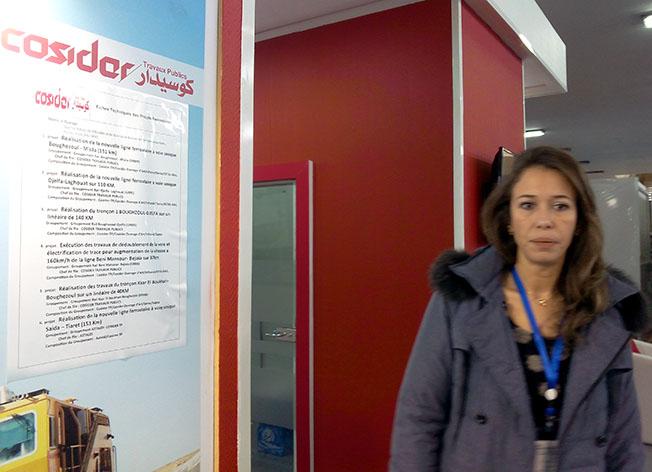 Soumeya Zamoum, directrice de communication du groupe Cosider
