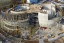Doka sur le chantier siège de l'observatoire européen austral (ESO)