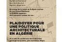 Le SYNAA plaidera  pour une politique architecturale en Algérie