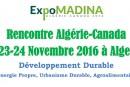 Alger accueillera « Expo-Madina » les 23 et 24 novembre 2016