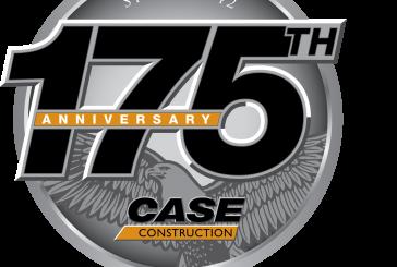 CASE commémore ses 175ans de solutions de construction