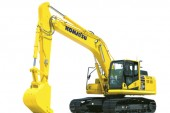Komatsu :  Nouvelle pelle PC210LCi-11 semi automatique