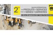 <span style='font-weight:300;'>Salon des carrières et Mines</span><br/>2e MICA 2017 ouvre ses portes aujourd&rsquo;hui 26 septembre à la Safex