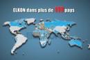 Centrale à béton : Elkon annonce fièrement sa présence dans 110 pays