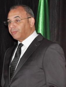 Abdelghani Zaâlane, Ministre des Travaux Publics et des Transports.