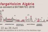 <span style='font-weight:300;'>Participation de Lafarge Holcim au Batimatec 2018</span><br/>Une occasion de démonstration de force et de produits