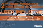 ALGER INDUSTRIE 2018: Une  riche  Journée d'étude le mardi  09 Octobre à la salle Maâchi