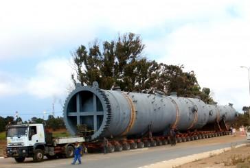 Transmex s'apprête à effectuer un convoie exceptionnel de plus de 62 m