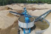 Installation de lavage de sable mobile  : le nouveau X150 CDE fait son entrée