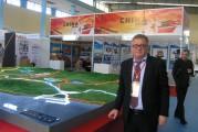SITP2018: La maquette du futur port de Cherchel exposée sur le stand du groupe Serport