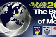 Quatre salons en 1: GIFA, NEWCAST, METEC et THERMPROCESS Sous le leitmotiv « The Bright World of Metals »