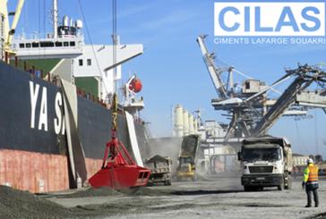 Cilas Biskra effectue sa première opération d'exportation de 35.000 tonnes de Clinker Gris