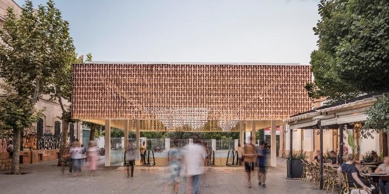Premier prix Architecture: « Nouvelle entrée à la gare intermodale de Palma » Joan Miquel Segui Colomar.