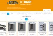 Plus de 200 Produits BIM BASF disponible sur bases de données mondiales couvrant toute l'industrie de la construction