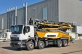pompe à béton  sur camion 42 M5 XXTen première mondiale chez Liebherr au bauma 2019