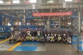 TEREX AWP fête son 1.000 ème ciseau Genie fabriqué en Chine