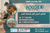 Woodex-Algérie:  Un salon Turque de l'industrie du Bois se tient  en Algérie du 11au 14 septembre  à la Safex