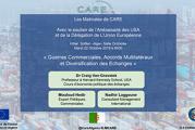 « Guerres commerciales, Accords multilatéraux et Diversification des échanges » par Craig Van Grasstek au menu de la conférence du circle Care
