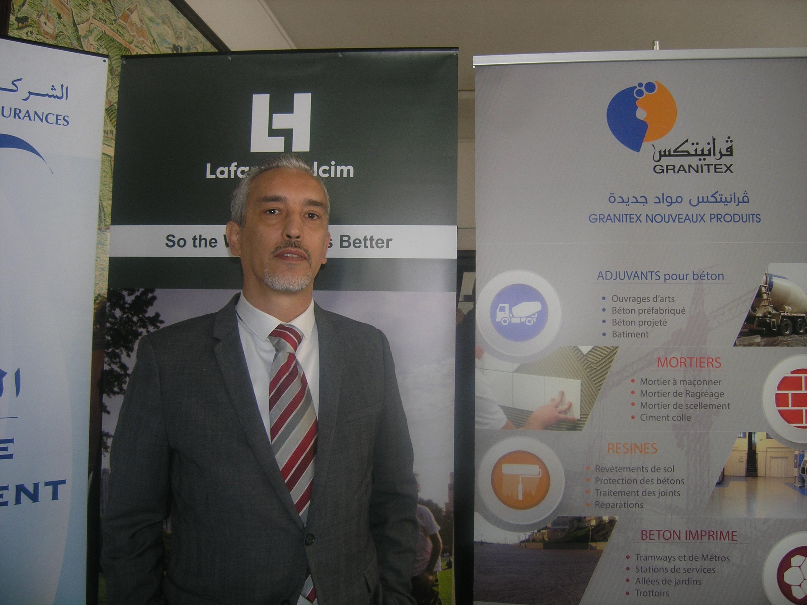 Samir GHERBI Directeur de l'Organisation de la Communication et des Ressources Humaines LafargeHolcim Algérie