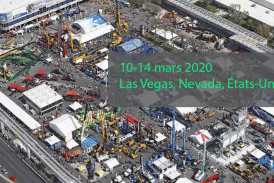 CONEXPO-USA : Le plus grand salon de l'industrie de construction revient en mars 2020