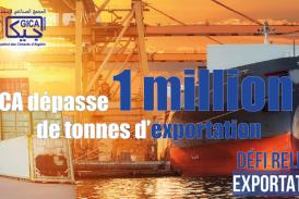 Exportation Hors hydrocarbure : 2 millions de tonnes de clinker exportés en 2020