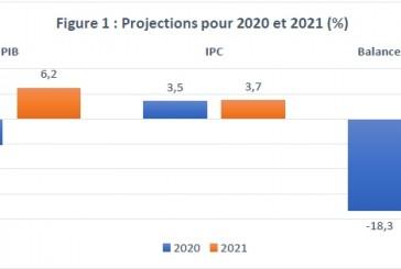 Note de conjoncture trimestrielle :   sur les prévision du Fmi , Care annonce une baisse du PIBde 5,2%