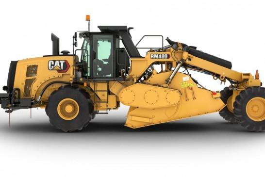 Recyclage de chaussées : Caterpillar lance RM400 en remplacement de la RM300