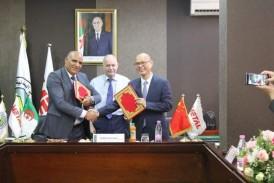 ENCC filiale d'Imetal signe un mémorandum d'entente avec l'entreprise chinoise Crcc